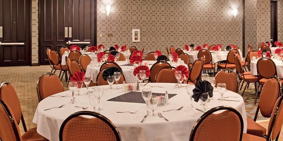 Radisson Hotel Fresno Conference Center wedding Central Valley