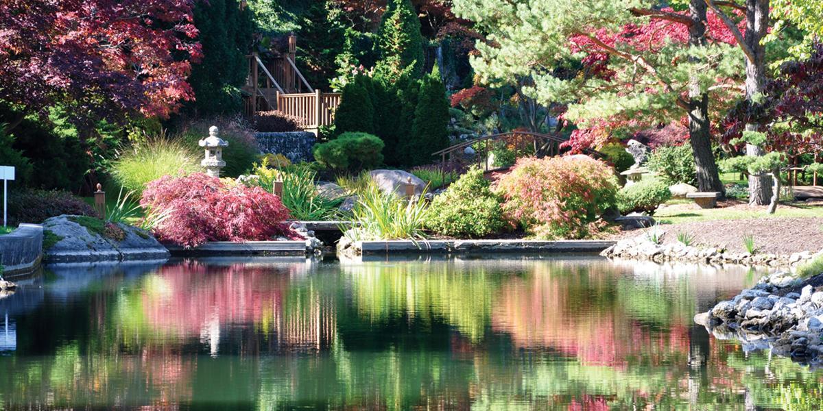 Schedel Arboretum & Gardens wedding Toledo
