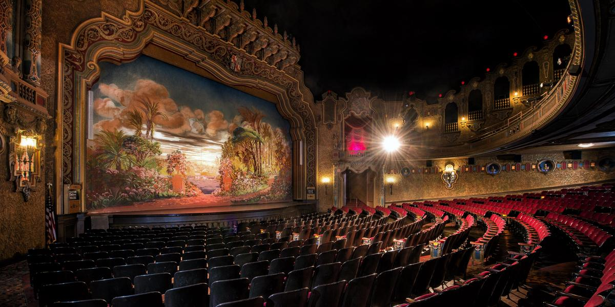 The Canton Palace Theatre wedding Cleveland