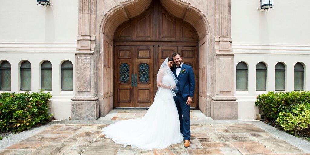 First United Methodist Church of Coral Gables wedding Miami