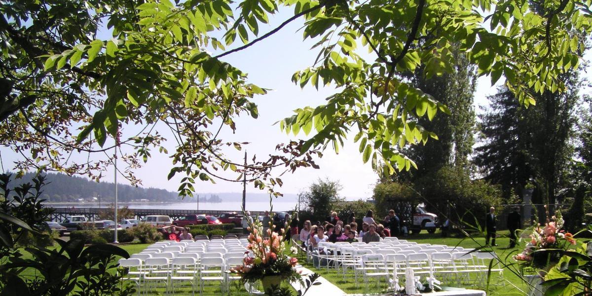 Allyn Waterfront Park wedding Seattle
