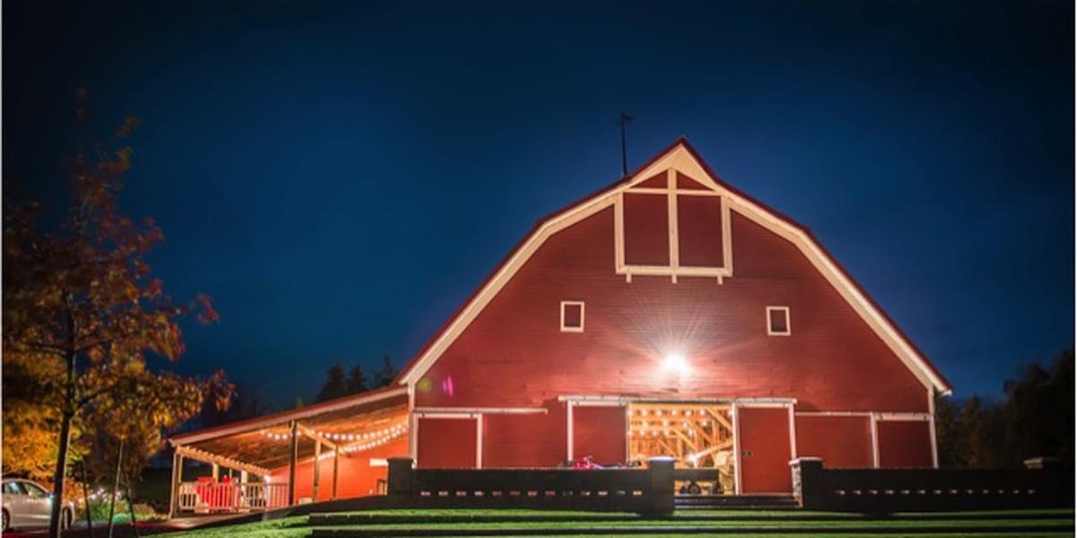Red Barn Farms wedding Spokane