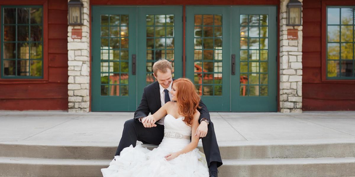 Big Stone Lodge wedding Houston