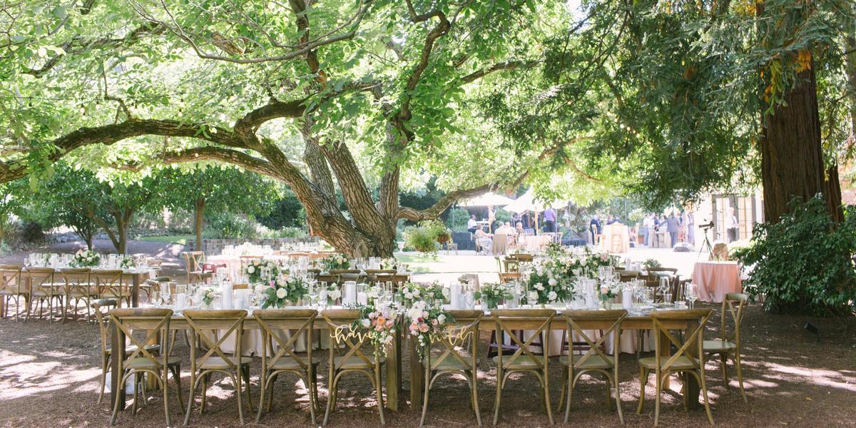 Beringer Winery wedding Napa/Sonoma