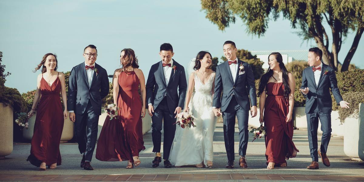 Hilton San Francisco Airport Bayfront wedding Peninsula